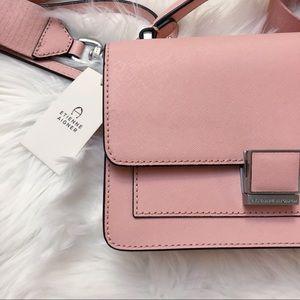 Etienne Aigner Leah Leather Crossbody Bag Purse